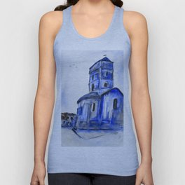 Once A Church Unisex Tank Top