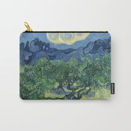 The Olive Trees by Vincent van Gogh Carry-All Pouch