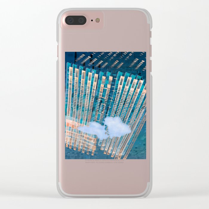 Cybernetic Memory Clear iPhone Case