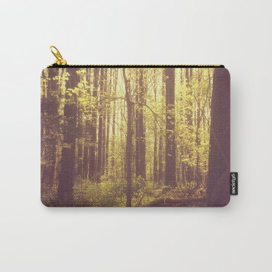 She Experienced Heaven on Earth Among the Trees Carry-All Pouch
