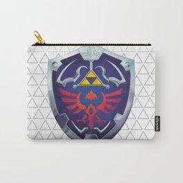 Link - Hyrule Shield - zelda Carry-All Pouch
