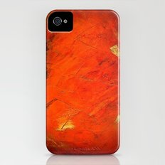 Italian Style Orange Stucco - Adobe Shadows iPhone (4, 4s) Slim Case