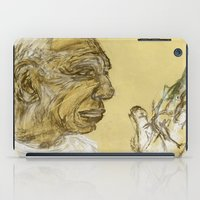 picasso iPad Cases featuring picasso portrait by rAr : Art by Robyn Ashley Rosner