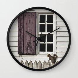 The Peeper Wall Clock