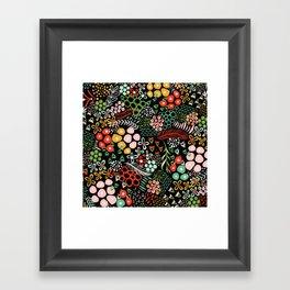 Winter Bouquet Framed Art Print