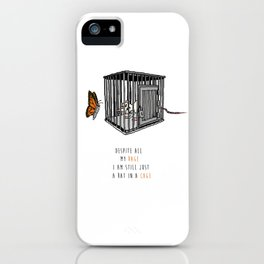 Bullet with Butterfly Wings | Inspired Lyric Art Print iPhone Case