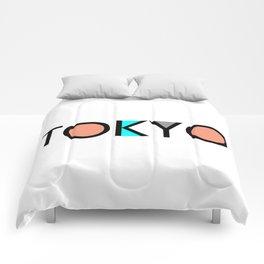 Tokyo Typo Comforters