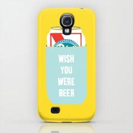 Wish You Were Beer iPhone Case