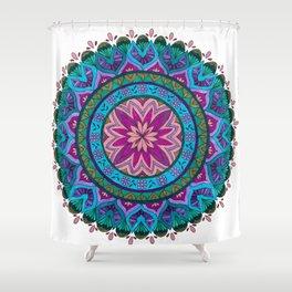 Meditation Mandala Shower Curtain