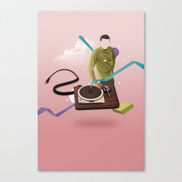 ILOVEMUSIC #4 Canvas Print