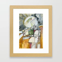 Sacred Anatomy VII Framed Art Print