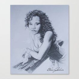 Sanaa Lathan Canvas Print