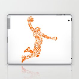 Basketball Art Dunk Laptop & iPad Skin