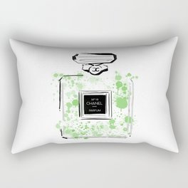 Green Perfume 2 Rectangular Pillow