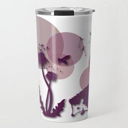 Dandelion And Hedgehog No. 1 Travel Mug