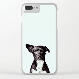 Hello Dog Clear iPhone Case