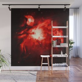Orion NeBULA : Red Wall Mural