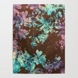 Weston Flowers, Tie Dye  Poster