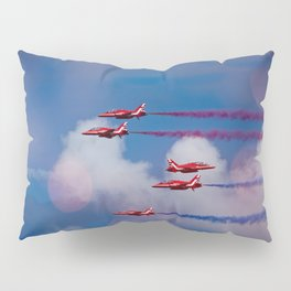 Red Arrows In The Sky Pillow Sham