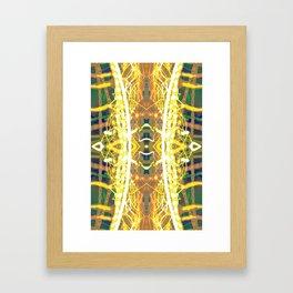 Golden Cage Framed Art Print