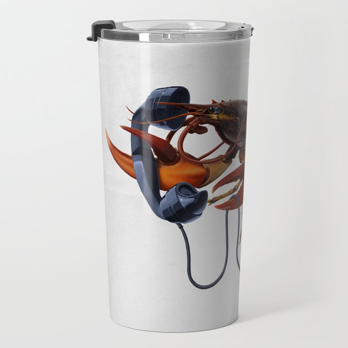 Calling Salvador (wordless) Travel Mug