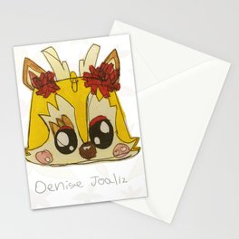Yellow Deer Stationery Cards
