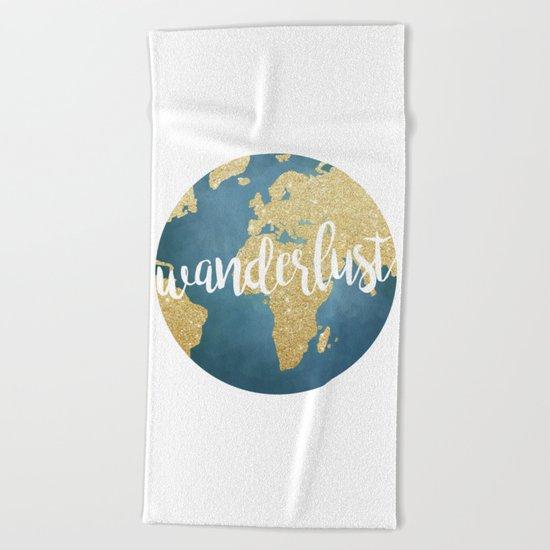 Wanderlust Beach Towel