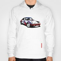 porsche Hoodies featuring Porsche 911 by Remove Before . . .