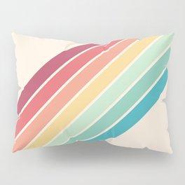 Classic 70s Style Retro Stripes - Penida Pillow Sham