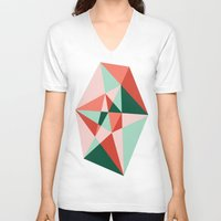 gem V-neck T-shirts featuring Gem by lizzy gray kitchens