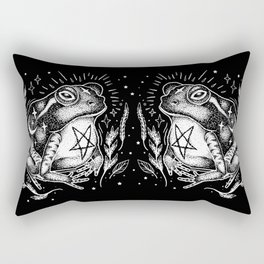 BLACK TOAD Rectangular Pillow