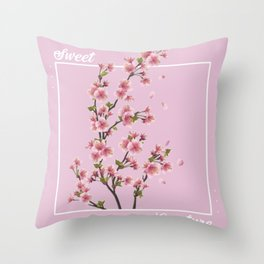 Sweet Creature - Harry Styles Throw Pillow