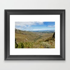 African Scenery Framed Art Print