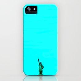 Statue De La Liberte iPhone Case