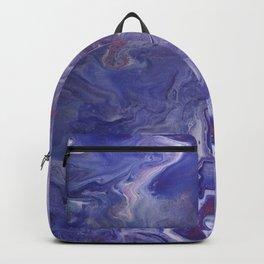 Dirty Paint Pour 4, Fluid Art Reproduction Backpack
