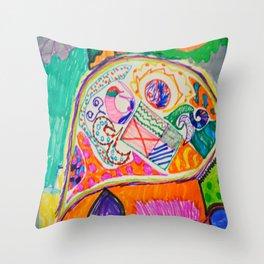 Pop Up Art Throw Pillow