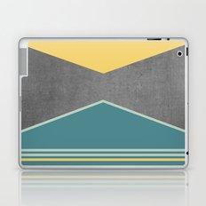Concrete & Triangles III Laptop & iPad Skin