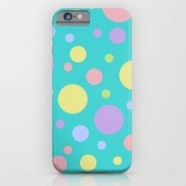 Circle shape pattern iPhone Case