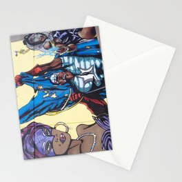 italian graffiti II Stationery Cards