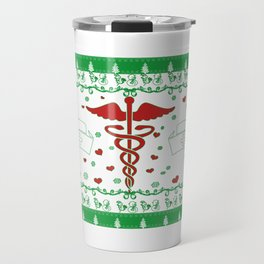 NURSE CHRISTMAS Travel Mug