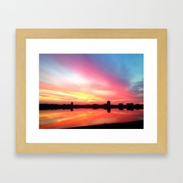 The Most Beautiful Sunset You've Ever Seen Framed Art Print