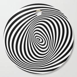 T Shirt Texture Zebra Stripes Printed Tops Tees Graphics Pattern Cutting Board