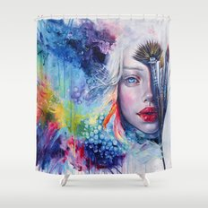 Coralized Shower Curtain