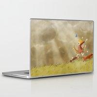 run Laptop & iPad Skins featuring Run! by Tona