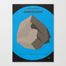 No695 My Armageddon minimal movie poster Canvas Print