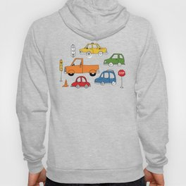 Busy Traffic Pattern Hoody