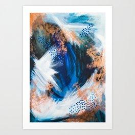 Begin Art Print
