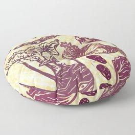 Eat Your Purple Veggies Floor Pillow