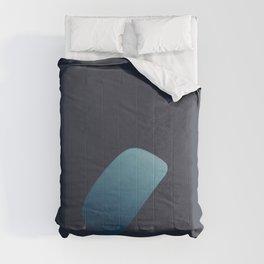 Rain drops on a window Comforters