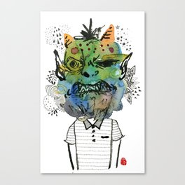 Monster me Canvas Print